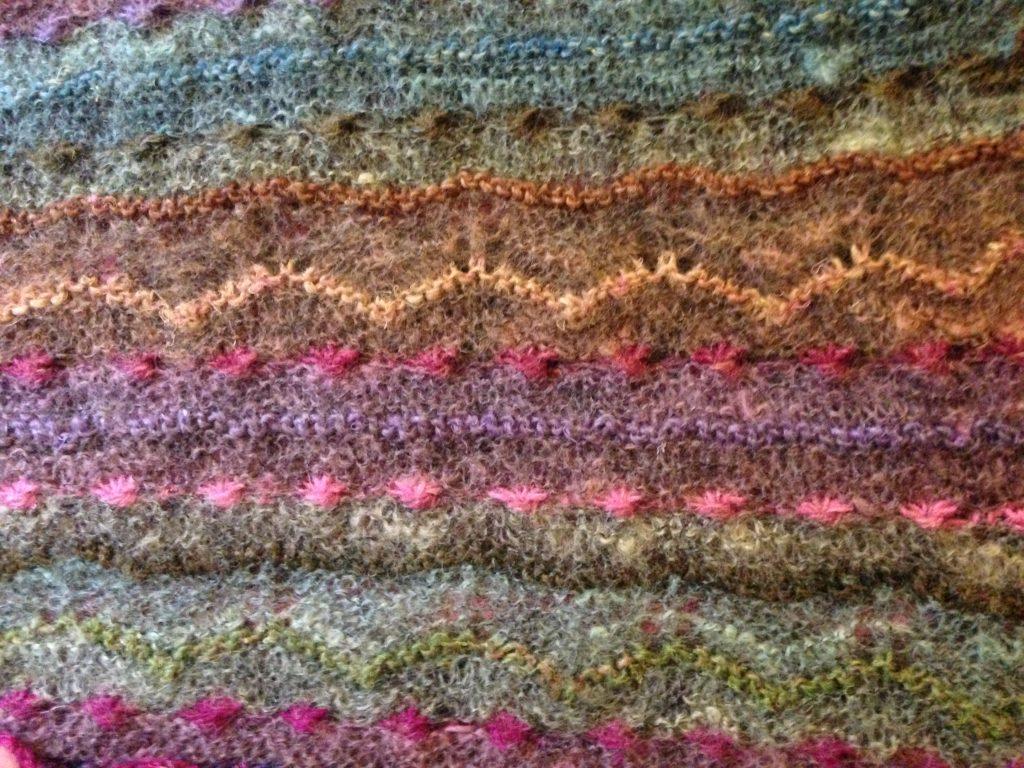 Tricot - Changer de couleur tricot ...
